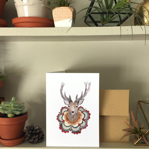 Greeting Card: Collector: The Deer