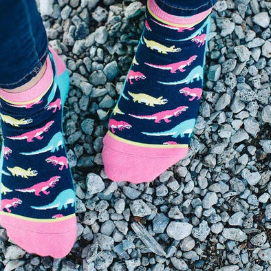 Ankle-O-Saurus Shorty Socks