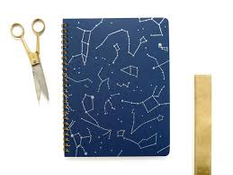 Star Map Spiral Notebook