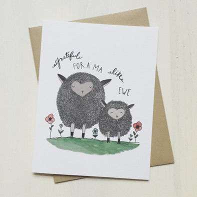 Grateful for a Ma Like Ewe Greeting Card