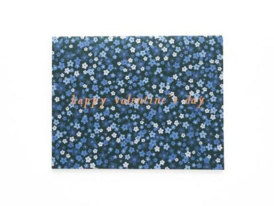 Happy Valentine's Day Mini Florals Greeting Card