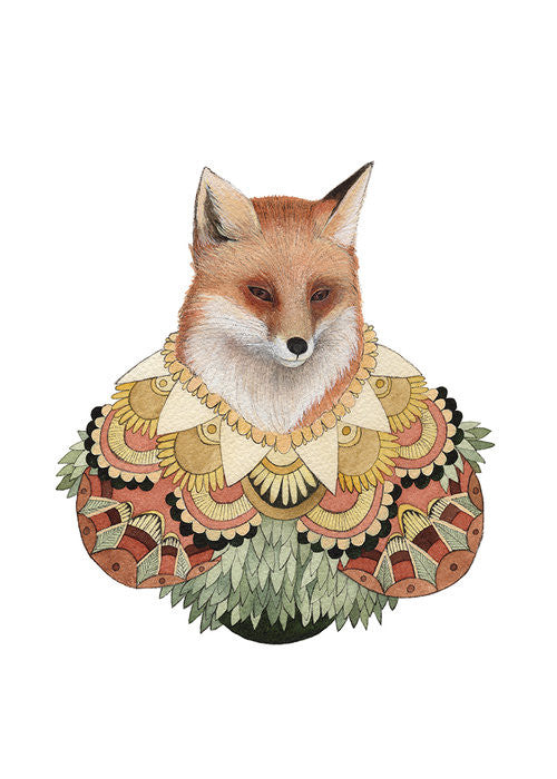 Collector: The Fox - Art Print