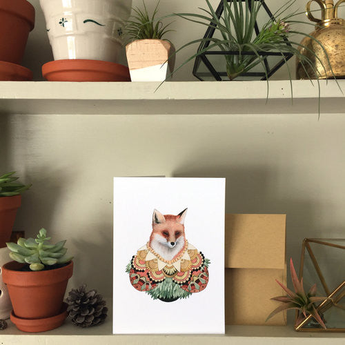 Collector: The Fox - Greeting Card
