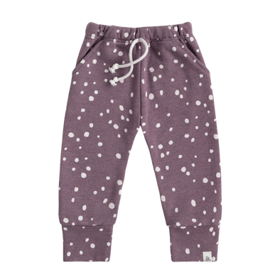 Grape Dot Skinny Joggers