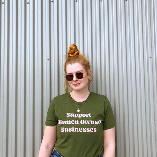 Support Women Owned Businesses Tee
