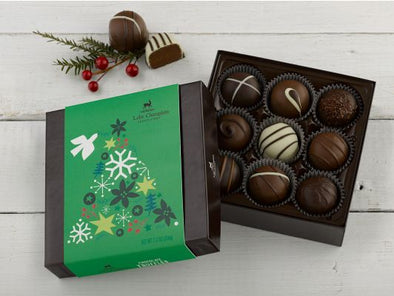 Holiday Truffles Box - 9pc