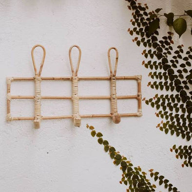 Nusa Rattan Wall Hook
