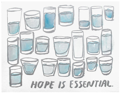 Hope Is Essential Art Print