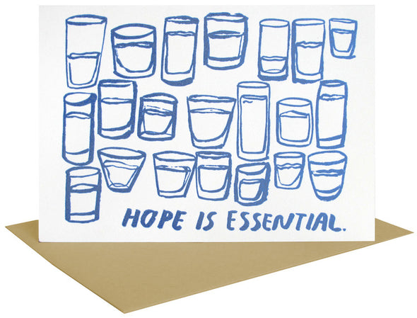 Hope Is Essential Greeting Card