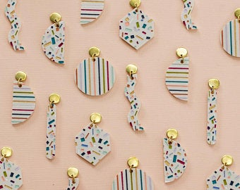Terrazzo Earrings