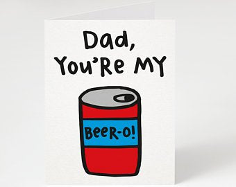 Beer-o Father's Day Card