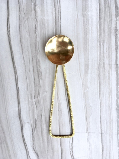 Deluxe Brass Coffee Spoon