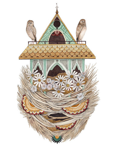 House of Owl - Art Print