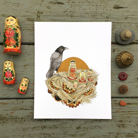 Collector: The Nesting Dolls - Art Print
