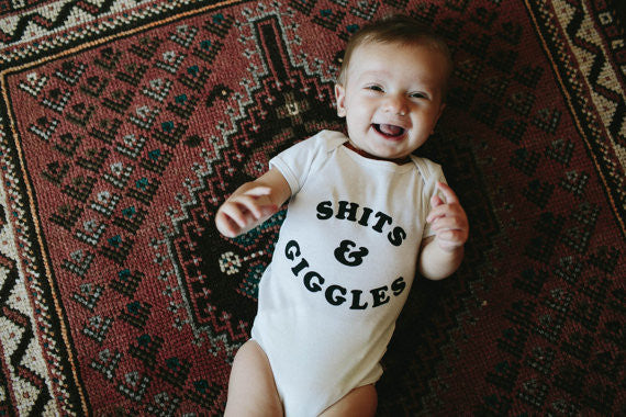 Shits and Giggles Onesie