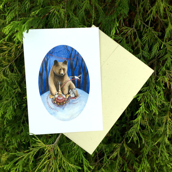 Woodland Holiday - Greeting Card