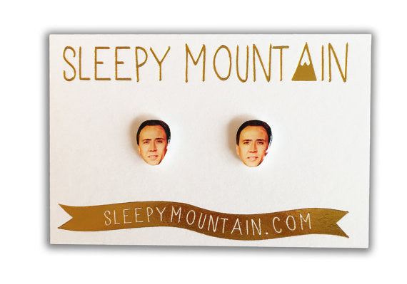 Nicolas Cage Earrings