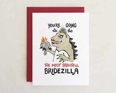 Beautiful Bridezilla Card