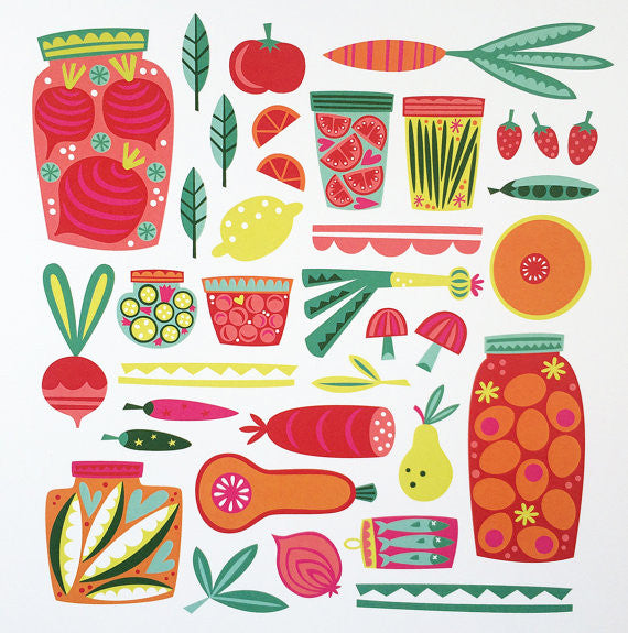 Kitchen/Pickle Print 8.5X11
