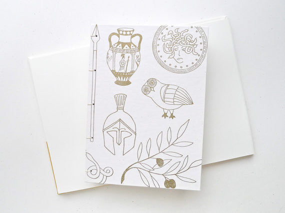 Athena Coptic Notebook // by Middle Dune