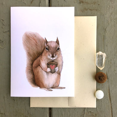 Greeting Card: Nutty Love