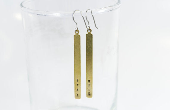 Stay Wild Dangle Earrings