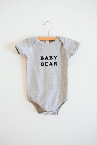 Baby Bear Onesie - WATERBURY