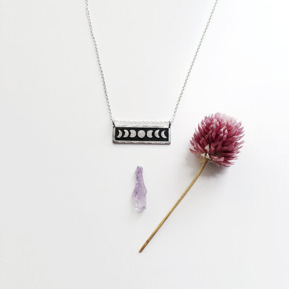 Mini Moon Phase Necklace*