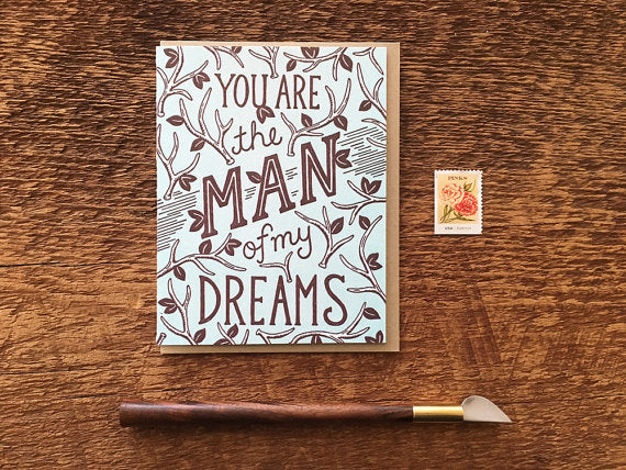 Man of my Dreams Greeting Card