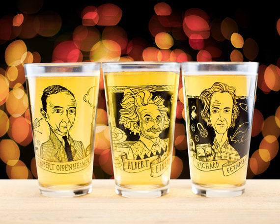 J Robert Oppenheimer Pint Glass