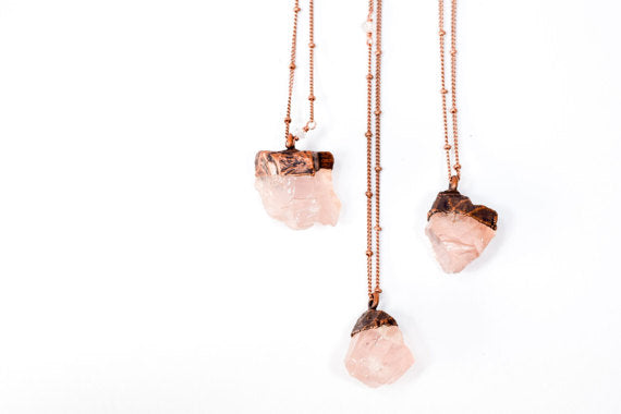 "24"" Rose Quartz Necklace*"