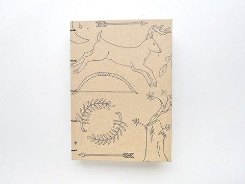 Artemis Coptic Notebook // by Middle Dune