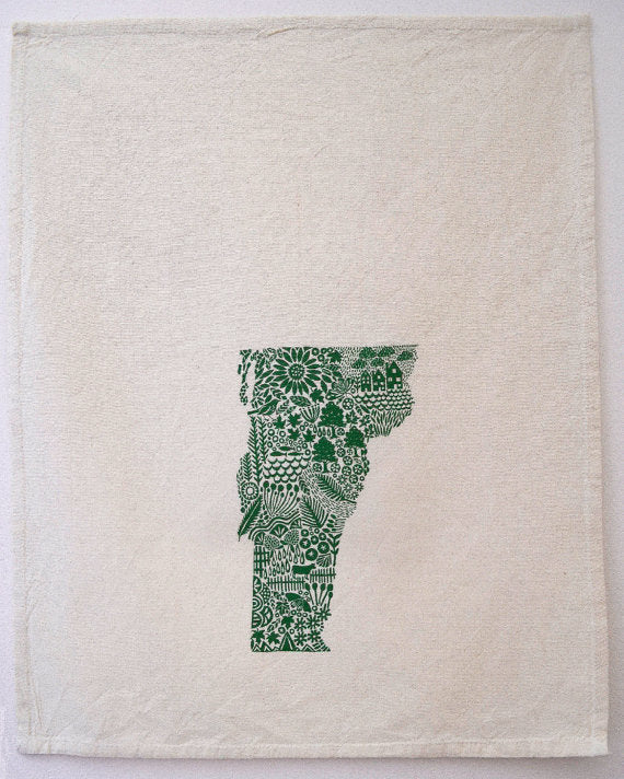 Vermont Tea Towel