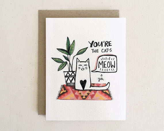 You're the Cat's Meow - Card