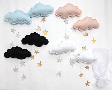 Starry Cloud Wall Hung Mobile