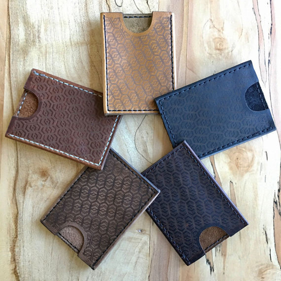Tresidet Minimalist Leather Wallet (Assorted Colors)