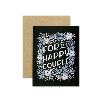 For The Happy Couple Greeting Card