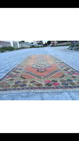 Vintage Handmade Turkish Rug $650