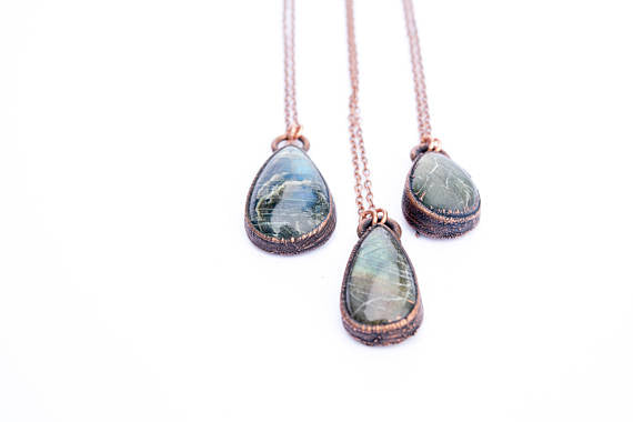 "24""   Labradorite Necklace*"