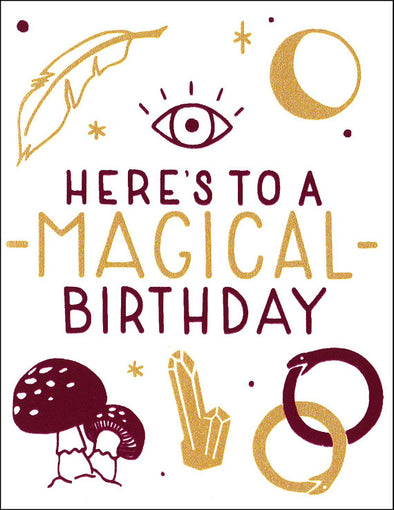 Magical Birthday Card // by Middle Dune
