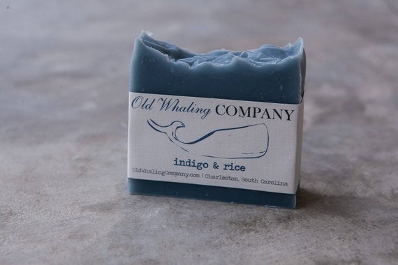 Indigo and Rice Bar Soap