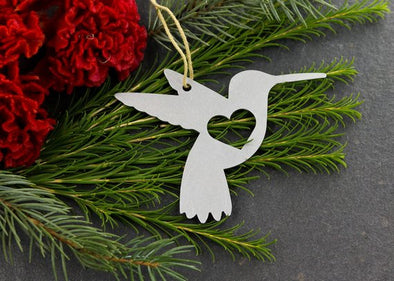 Hummingbird Metal Ornament