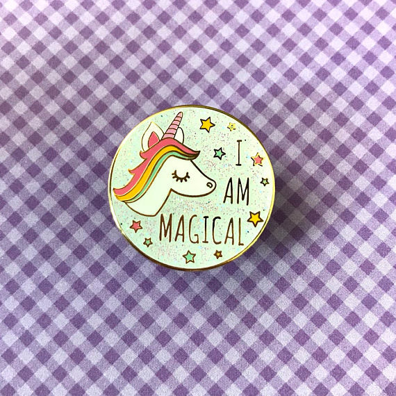 I Am Magical Enamel Pin