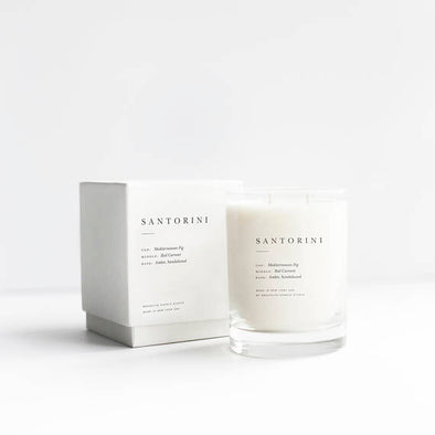 Santorini Double Wicked Luxury Candle