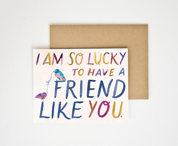 Best Friend Gratitude Card