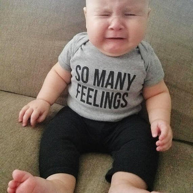 So Many Feelings Onesie