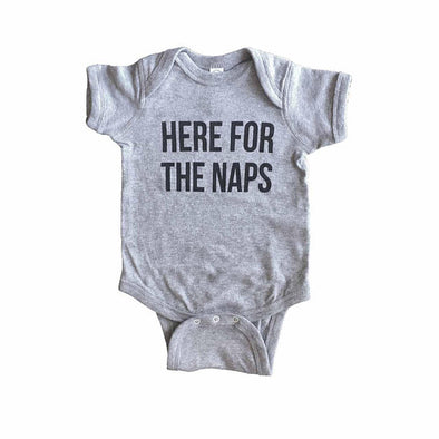 Here For The Naps Onesie