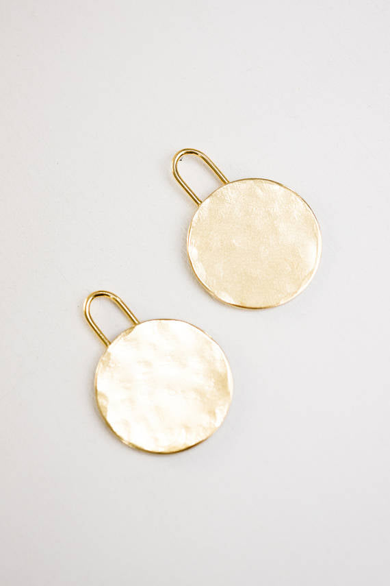 Dillan Brass Earrings