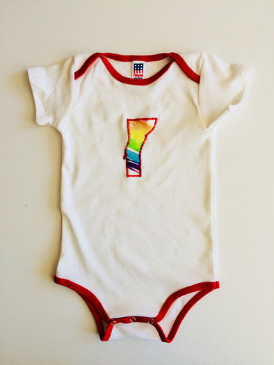 Vermont Pride Power Suit  Onesie
