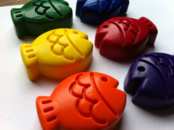 Eco Friendly Fish Crayons